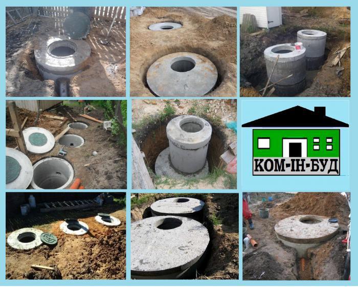 Как сделать из колец бетонных 175