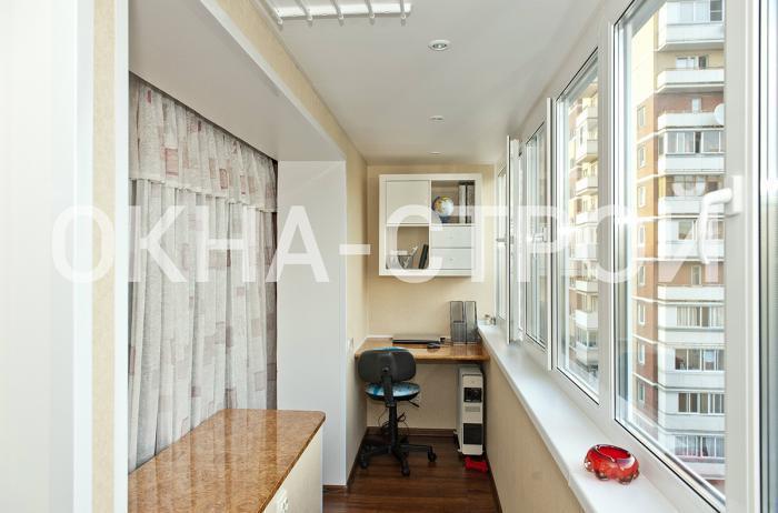 Объединение лоджии, балкона с жилым помещением, кухней, моск.