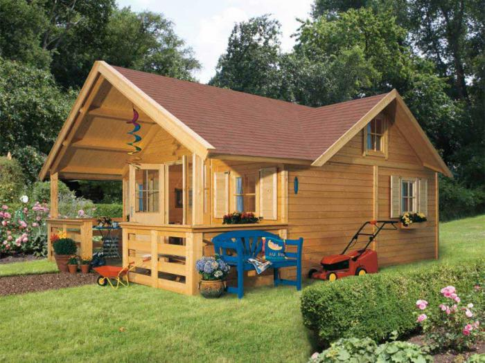 Садовые домики своими руками с малыми затратами фото 84