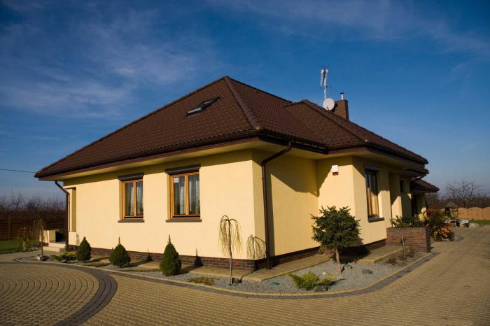 Фото заштукатуренный дом 4 фотография
