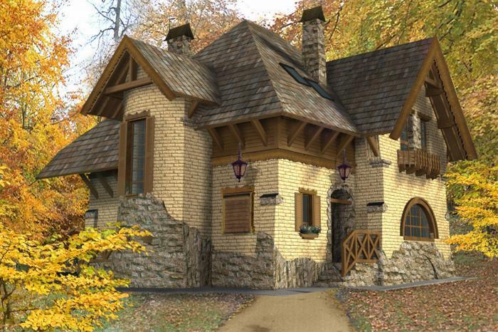 Фото старинных красивых домов из кирпича 6
