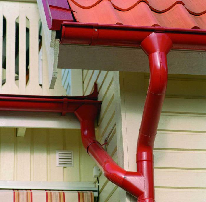 Водостоки для крыши пластиковые монтаж своими руками